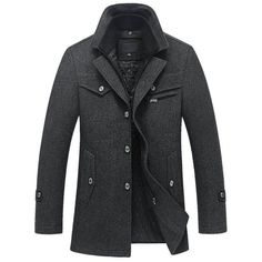 The Ellis Peak Quilted Short Trench Charcoal http://www.99wtf.net/category/men/mens-accessories/