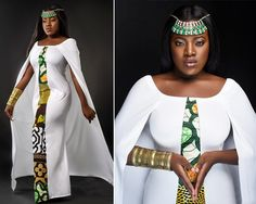 Any women wants to look chic and attractive in celebrities.So, she should wear one of these shweshwe Anakara traditional dresses Modern African Print Dresses, African Print Wedding Dress, African Print Dress Designs, Ankara Designs, African Inspired Fashion, African Print Fashion, African Fashion Dresses, African Outfits, African Attire