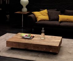 Ozzio Couchtisch Box aufklappbar   Ozzio coffee table box hinged