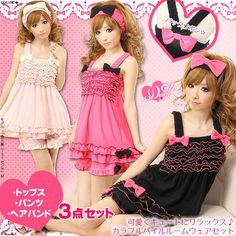 Japanese Room Wear for Hime Gyaru