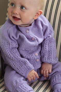FREE PATTERN AND VIDEO...Baby knitting pattern | baby cardigan knitting patterns
