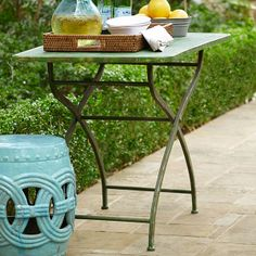 Wisteria - Accessories - Shop by Category - Outdoor Decor -  Iron Garden Table - $229.00