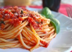 Authentic (Quick) Italian Tomato Sauce for Pasta Recipe on Yummly. @yummly #recipe