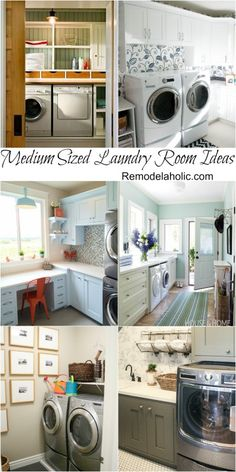 Great inspiration for medium sized laundry rooms #laundry #design #inspiration #home