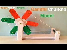 Hand Crafts For Kids, Projects For Kids, Art Projects, Craft Stick Crafts, Crafts To Do, Diy Crafts, Art Drawings For Kids, Disney Drawings, Mahatma Gandhi