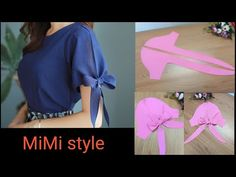 Stylish Blouse Design, Fancy Blouse Designs, Dress Sewing Tutorials, Dress Sewing Patterns, Diy Clothes And Shoes, Sewing Clothes, Couture Sewing Techniques, Sleeves Designs For Dresses, Diy Dress