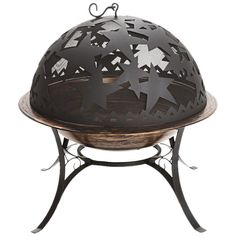 For the patio. Starry Night Fire Bowl