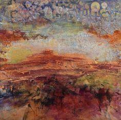 Red Mesa by Santa Fe Contemporary Artist Sandra Duran Wilson