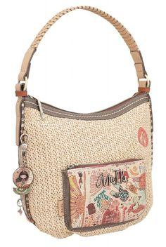 Hobobag Anekke Kenya Safari Fusion Korbgeflecht Safari, Kenya, Shopper, Modeling, Shoulder Bag, Bags, Leto, Style, Products