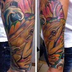 Coqui Frog Tattoo Id