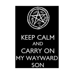 SUPERNATURAL ❤ liked on Polyvore featuring quotes, text, phrase and saying