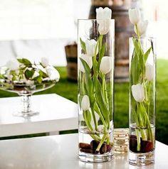 flores para jarrones de cristal