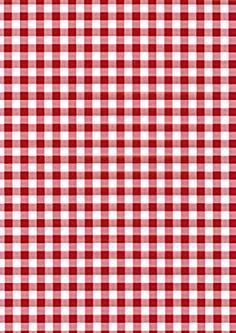 Fablon 45 cm x 2 m Gingham Roll, Red: Amazon.co.uk: Kitchen & Home