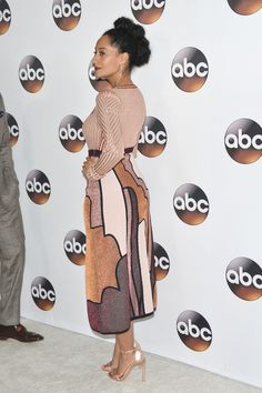 """Blackish"" actress Tracee Ellis Ross attends the Disney ABC Television Group TCA Winter Press Tour in Los Angeles, California. Let's get straight to"