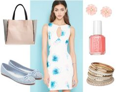 Class to Night Out: Watercolor Dress