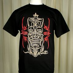 Cartel Ink Pinstripe Tiki T Shirt