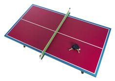Special Edition You And Me Zuzunaga Ping Pong Table in magenta! | DSHOP