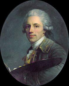 Antoine Vestier, Autoportrait, 1785