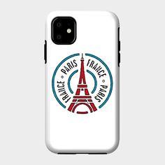 Paris Stamp - Wanderlust - Phone Case   TeePublic Paris France, Iphone Cases, Paris, Iphone Case, I Phone Cases