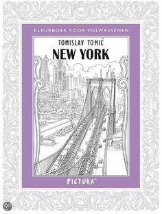 New York Kleurboek Volwassenen