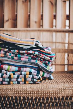 Let's give a little shout out to the wonderfully talented Madagascar community who weave every inch of our signature fabric in to existence. ⠀⠀ It's no quick process creating the fabric our products are made from. It's an intricate layout of love, hand-woven from tradition, pride and incredible artistry of the remote villagers who make it happen. ⠀⠀ The fiber of our signature colourful fabrics orginates from t-shirt offcuts - perfectly good material that would otherwise go to landfill. ⠀⠀ Give A Little, Madagascar, Weave, Hand Weaving, Remote, Pride, Fiber, Fabrics, Layout