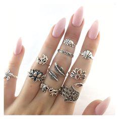 Amei esses anéis,são um mais lindo que o outro!!