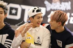 Jackson, Yugyeom and half Mark