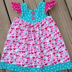 Valentine Flutter Dress by ocecilia on Etsy, $40.00