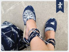 """AmigurumisFanClub ...Our new handmade espadrilles!!! Espadrille: """"Canvas footwear with an esparto or hemp sole fastened by simple adjustment or with laces"""" http://www.prym-consumer.com/static/0H0H00G9Y.pdf"""