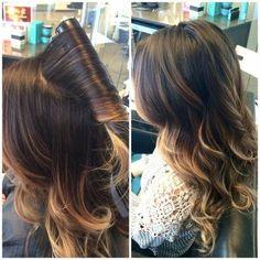 balayage w dark base Love Hair, Great Hair, Gorgeous Hair, Hair Day, New Hair, Hair Color And Cut, Hair Affair, Ombre Hair, Pretty Hairstyles