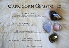 Capricorn gemstones