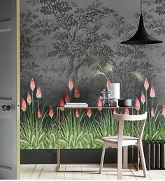 Am a total smitten kitten with this stunning wallpaper from the new Little Green London IV Collection!!! Am visualising it now on my living room wall and am getting serious heart palpitations!! LOVE, LOVE IT!!!!  #thedesignbug  #interiors #interiordesign #design #interiorsinspo #interiorinspiration #style #homedecor #irishblog #irishblogger #interiorsblog #irishinteriorsblog #decorblog #interiorsstyling #decor #wallpaper #mural #littlegreen #dark #floral #lovewalls #nature  #love #p...