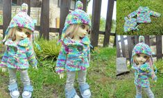Hand-knit sweater for doll 1-6-bjd-fairyland-LittleFee-Bisou 25 cm