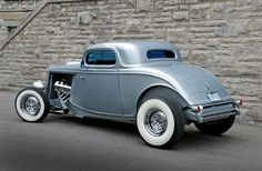 1934 Ford Coupe Rear Three Quarter ⚓️♥️