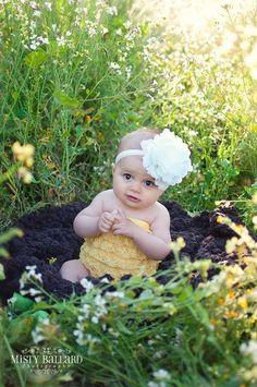 flower headband for toddler girl..newborn..ivory big flower headband..photography prop by SuriPieCreations on Etsy https://www.etsy.com/listing/96901571/flower-headband-for-toddler