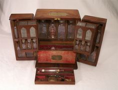 """Domestic medicine chest. not so enamored with this, but love the other things on the site. like the """"pocket globes"""""""
