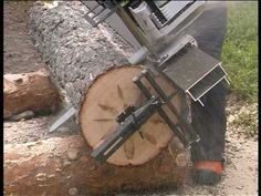 Mill Your Own Lumber Like A Pro - http://www.gottagodoityourself.com/mill-your-own-lumber-like-a-pro/