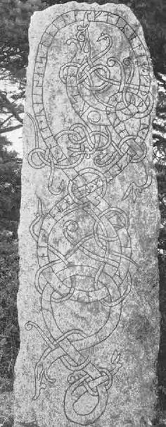 The Skråmstad Rune Stone, Haga, Uppland                                                                                                                                                                                 More