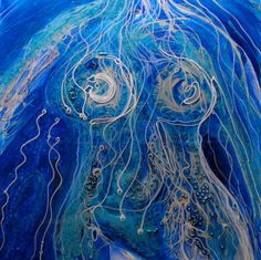 Artist Carla Goldberg Title: The Goddess Of Pollepel Year: 2009 | Theme:Abstract Figurative