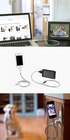 The Bobine, A super bendy phone cable and tripod in one