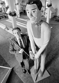 Ralph Lomma, the man who revived mini-golf in the Miniature Golf, Vintage Photos, Golf Courses, 1950s, Journal, Google, Image, Art, Art Background
