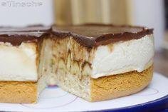 Das perfekte Bananen-Schoko-Sahne-Torte-Rezept mit Bild und einfacher Schritt-für-Schritt-Anleitung: Eier trennen und das Eiweiß mit der Prise Salz steif…