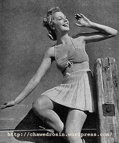Il Vintage pattern Files: costume da bagno