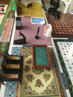Game Room Set - My personal dream room. Classic Board Games, Danse Macabre, Room Set, Poker Table, Game Room, Mystery, Boards, Electronics, Mansions