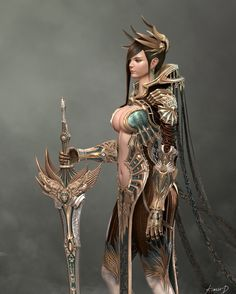 3d 캐릭터 normal max game character female