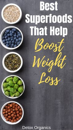 Best superfoods for weight loss. health tips. Healthy Diet Plans, Healthy Recipes, Diet Recipes, Superfood Recipes, Diet Meals, Recipes Dinner, Healthy Meals, Best Superfoods, Full Body Detox