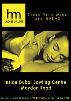 SPECIAL OFFER!!!  Swedish Massage for 60 mins. its only 99aed and we offer also Moroccan bath for only 99aed  Valid until 20th of November what are u waiting for book now… just call 043385566 or 0528832222 for more info