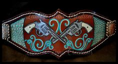 Painted Bronc Noseband  Tack made by Lantern Lane Creations   Painted Artwork by Cory Hendricks