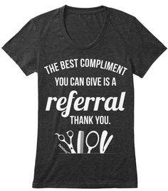 Discover Hairstylist Women's T-Shirt from Top Level, a custom product made just for you by Teespring. - Hairstylist Are Like Finding A Good Doctor . Natural Hair Shirts, Natural Hair Styles, Hair Stylist Shirts, Beauty Salon Decor, Work Shirts, Team Shirts, Shirt Hair, Hair Shop, Cosmetology
