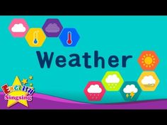 Kids vocabulary - Weather - How's the weather? - Learn English for kids - English educational video - YouTube